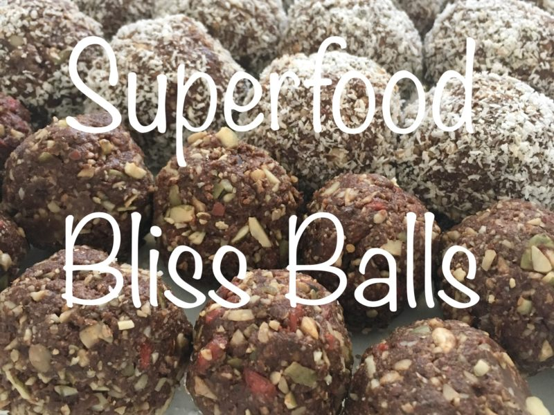 Superfood Bliss Balls by Samantha Gowing